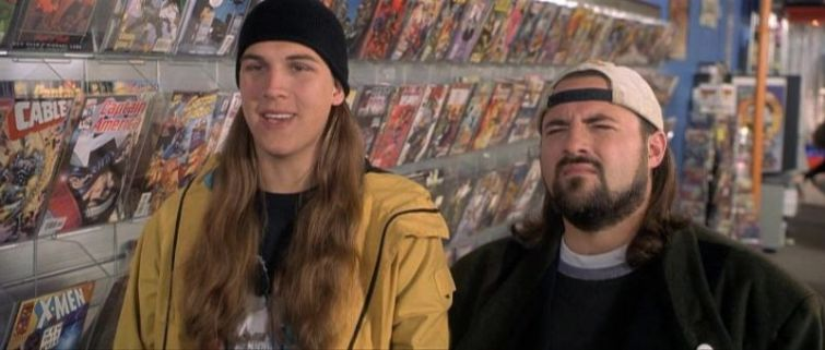 Jay e Silent Bob fermate Hollywood! di Kevin Smith, Jason Mewes, negozio fumetti