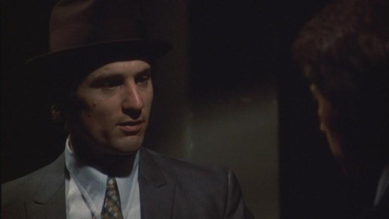 Una scena di Mean Streets, che ha come protagonista Robert De Niro - Frasi sul sesso degli attori e dei registi