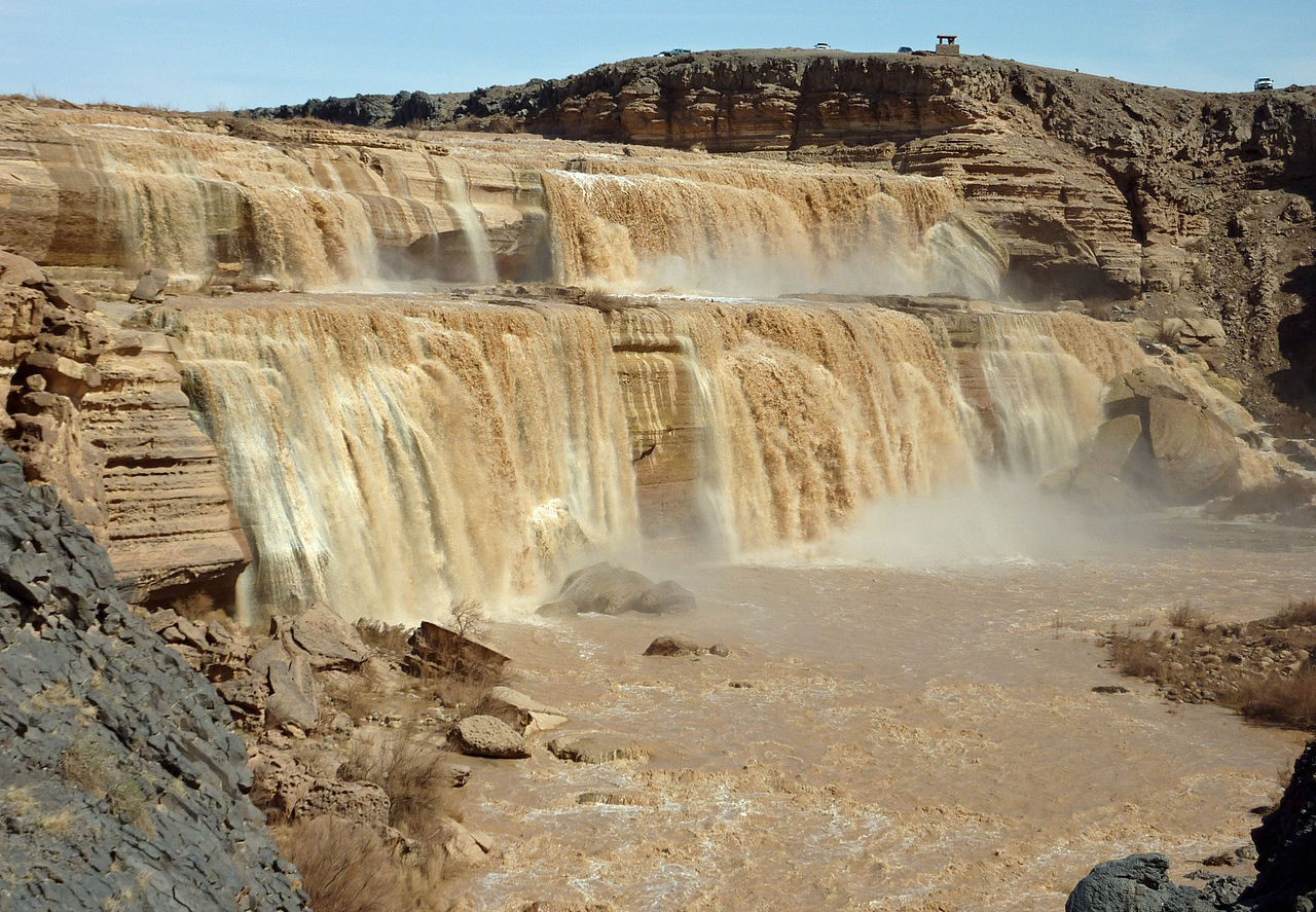 Le Grand Falls in Arizona