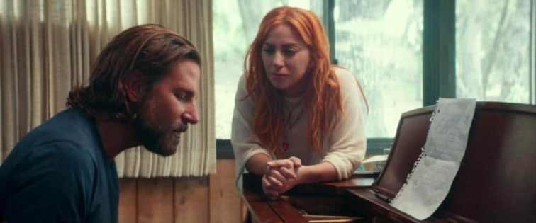 A Star Is Born frasi e citazioni tratte dal film di Bradley Cooper con Lady Gaga, pianoforte