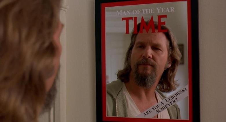 Il grande Lebowski citazioni e dialoghi di Joel Coen con Jeff Bridges, John Goodman, Julianne Moore, Steve Buscemi, Drugo, Time