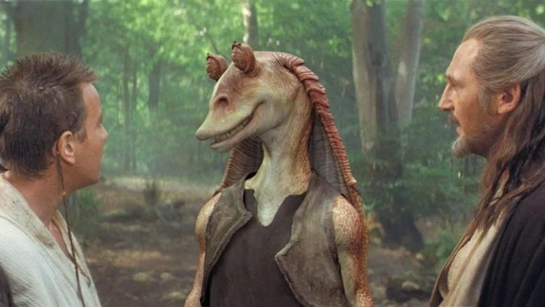 Star Wars Episodio I - La minaccia fantasma frasi, citazioni e dialoghi di George Lucas con Liam Neeson, Ewan McGregor, Natalie Portman, Jake Lloyd, Jar Jar