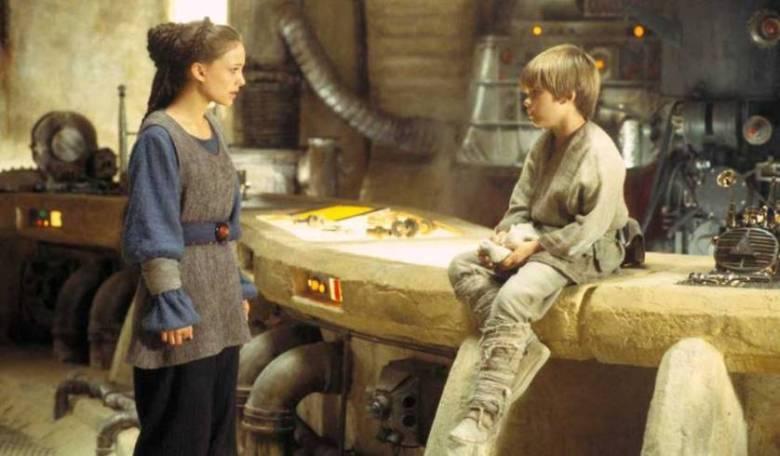 Star Wars Episodio I - La minaccia fantasma citazioni e dialoghi di George Lucas con Liam Neeson, Ewan McGregor, Natalie Portman, Jake Lloyd, Padme e Anakin