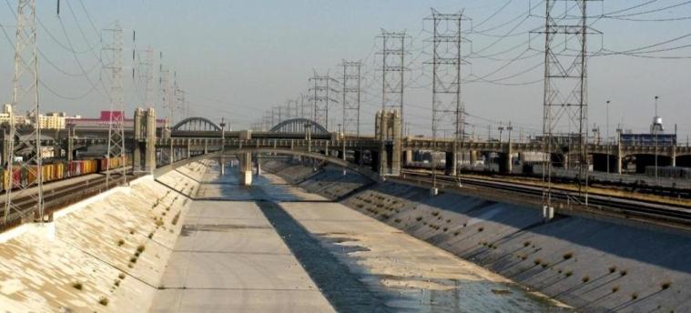 Los Angeles River (LA River) al cinema