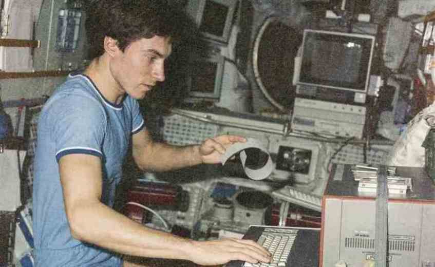 Vicenda nello spazio di Sergej Konstantinovič Krikalëv