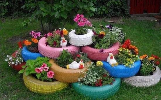 Come decorare il giardino fai da te riciclo e low cost  Foto  Non sprecare