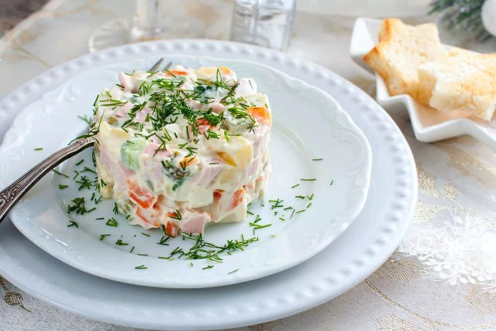 Ricetta insalata russa fatta in casa in maniera