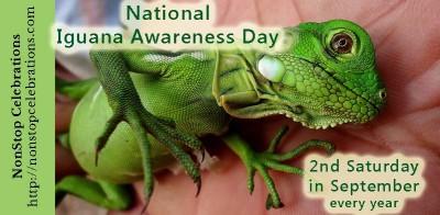 National Iguana Awareness Day Is September 12