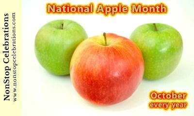 Celebrate National Apple Month all October
