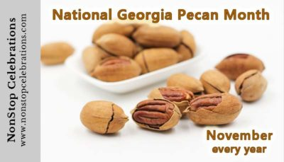 November is National Georgia Pecan Month