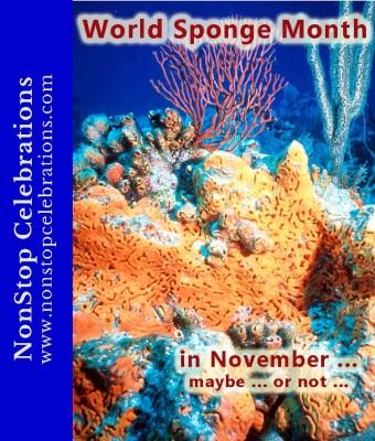 Elephant Ear Sponge for World Sponge Month