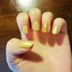 NOTD: Not all that glitters is gold