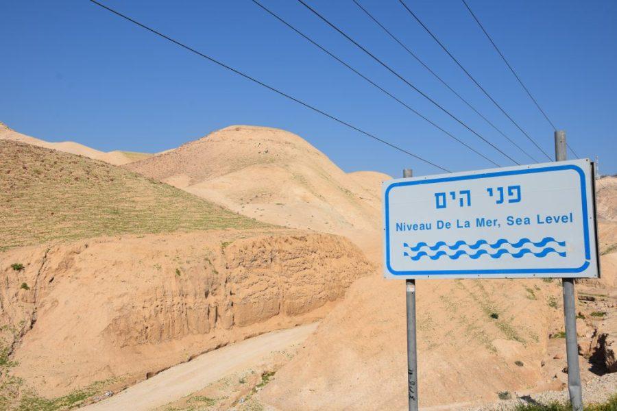 israel dead sea lowest point on earth