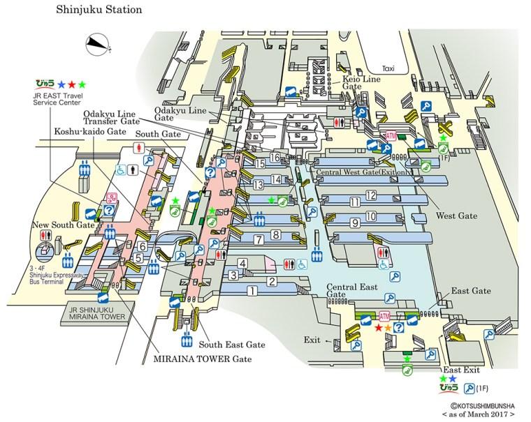 มารู้จัก Shinjuku Station กันครับ