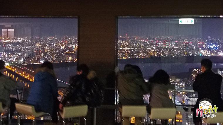 ดูวิว เมืองโอซาก้า บนตึก Umeda Sky