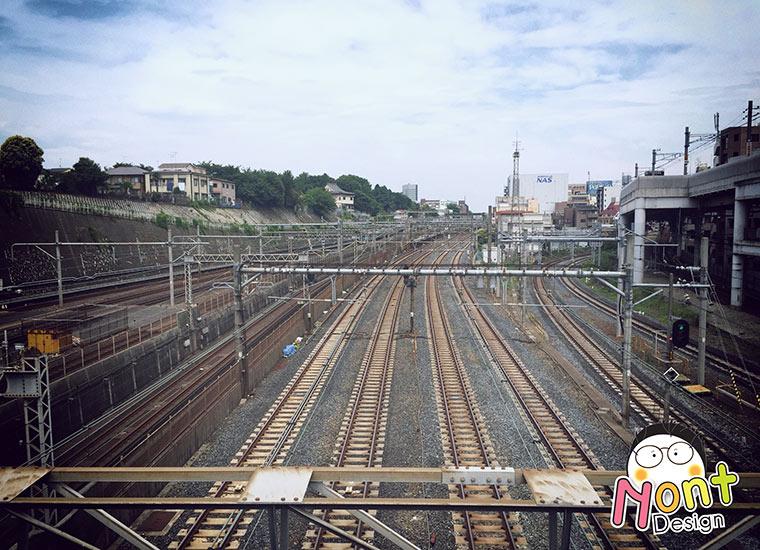ขึ้นรถไฟที่ญี่ปุ่นกัน