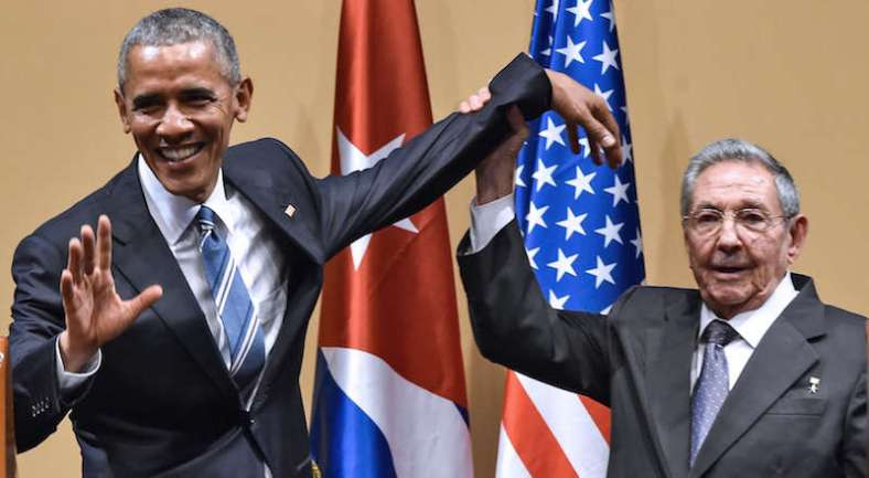 incontro obama e castro