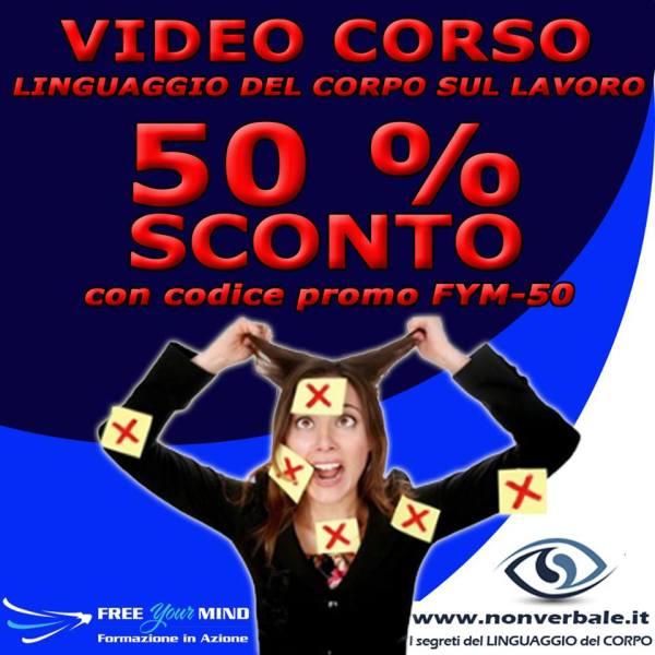 videocorso - promo -50%