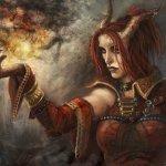 Neutral Tiefling Druid