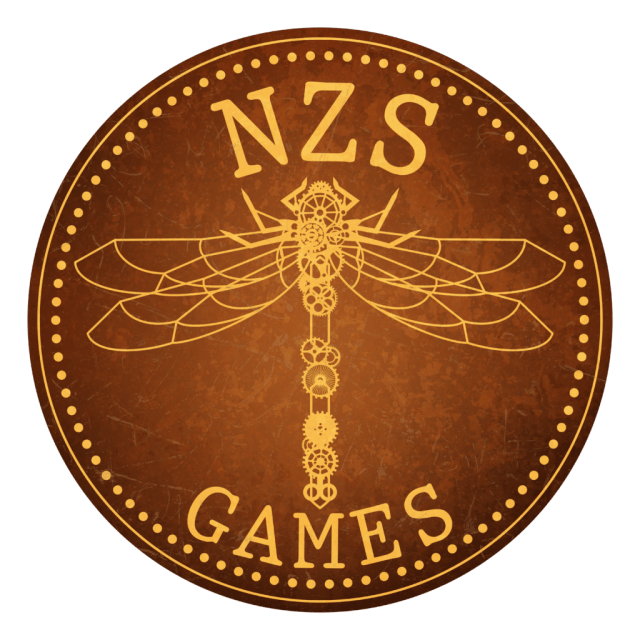 NZS Games Logo by Marcie Clowry