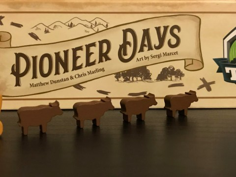 Pioneer Days by Tasty Minstrel Games