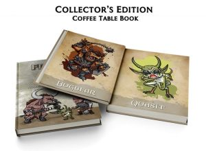 Fiends & Foes Coffe Table Book