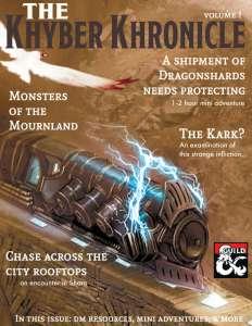 Khyber Kronicle Volume # 01