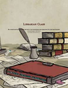 The Librarian An Investigative Class