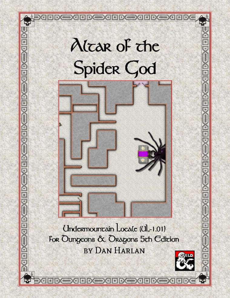 Altar of the Spider God
