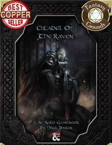D&D Solo Adventure: Citadel of the Raven (Fantasy Grounds)