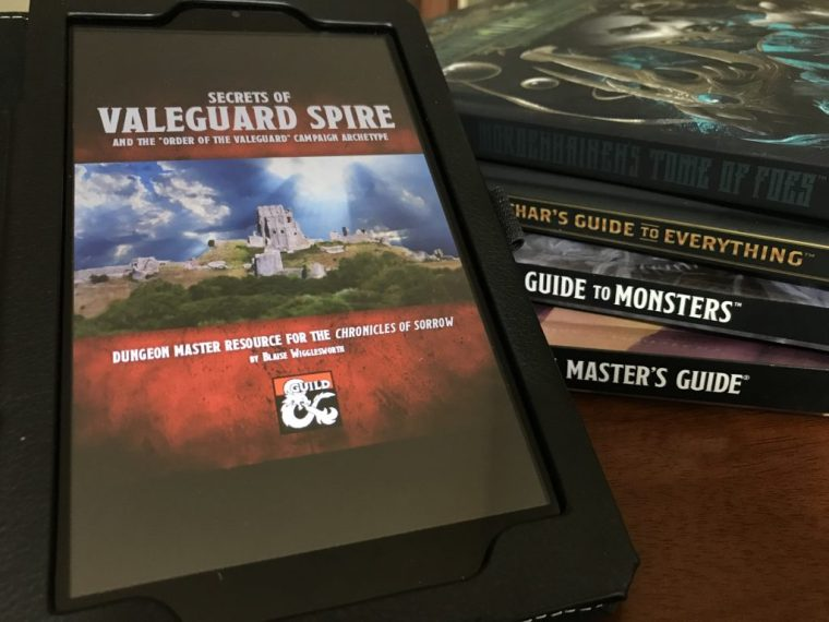 Secrets of Valeguard Spire