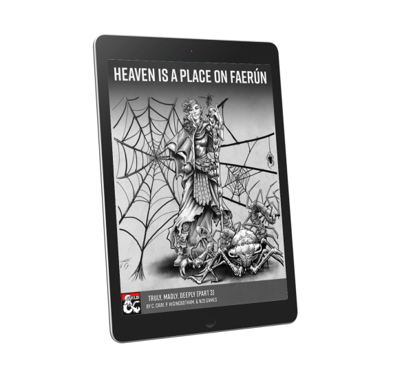 Heaven is a Place on Faerûn—5E Adventure