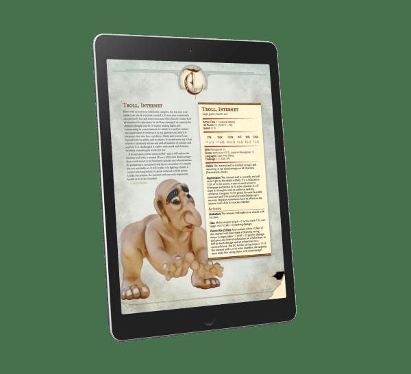 Internet Troll—A New 5E Monster