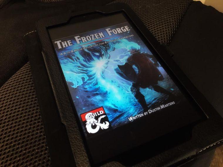 The Frozen Forge by Dusten Martens