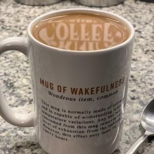 Mug of Wakefulness Wondrous Item D&D 5E