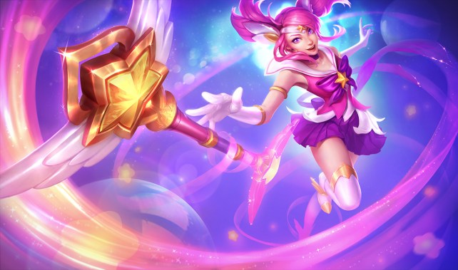Star Guardian Lux Splash Art(1)