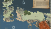 Interactive Game of Thrones Map With Spoiler Control
