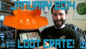 January 2014 Loot Crate Unboxing!