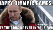 May The Odds Be Ever In Your Favor – Sochi Winter Olympics 2014