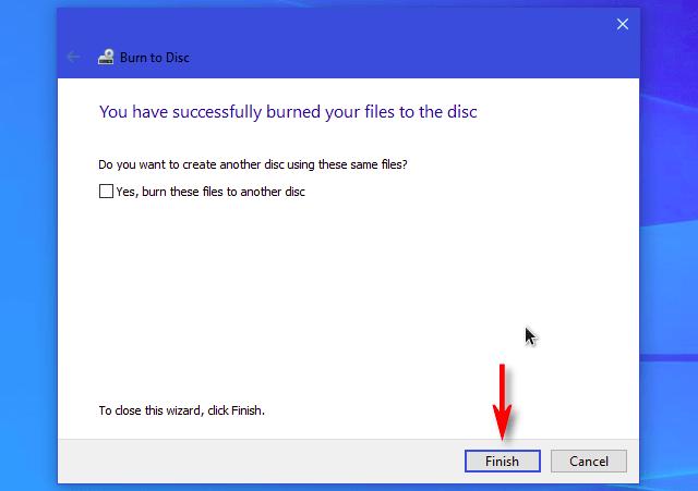 cara burning dvd rw