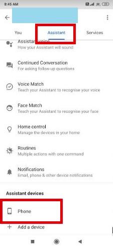 cara menonaktifkan google assistant di smartphone