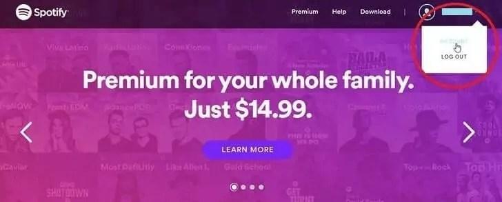 cara membatalkan berlangganan spotify premium