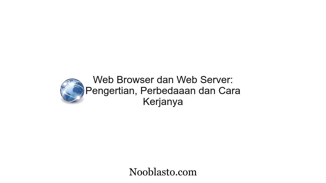 web browser dan web server