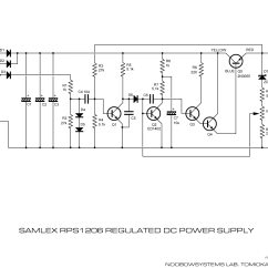 Dc Regulated Power Supply Circuit Diagram Maytag Washer Repair Samlex Rps1206 Back To Life