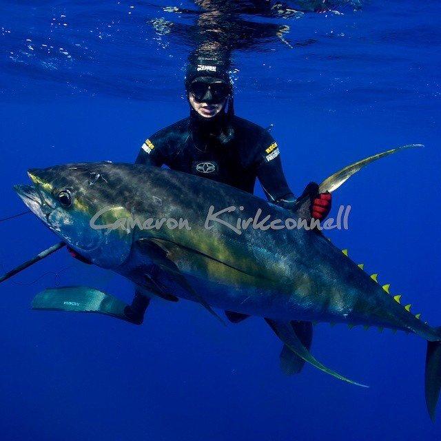 Cameron Kirkconnell Pole Spearing Tuna