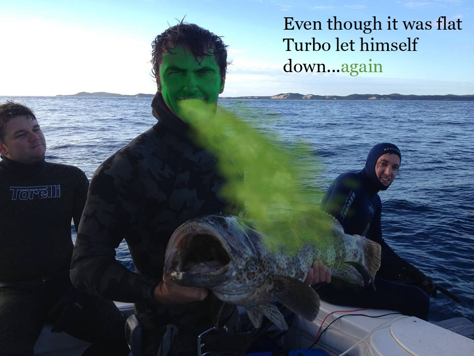 How to stop being seasick spearfishing