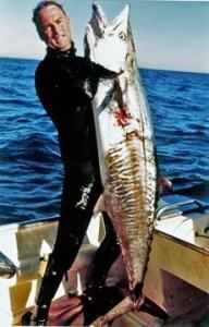 fearnley_narrow_bar. Spanish Mackerel spearfishing record