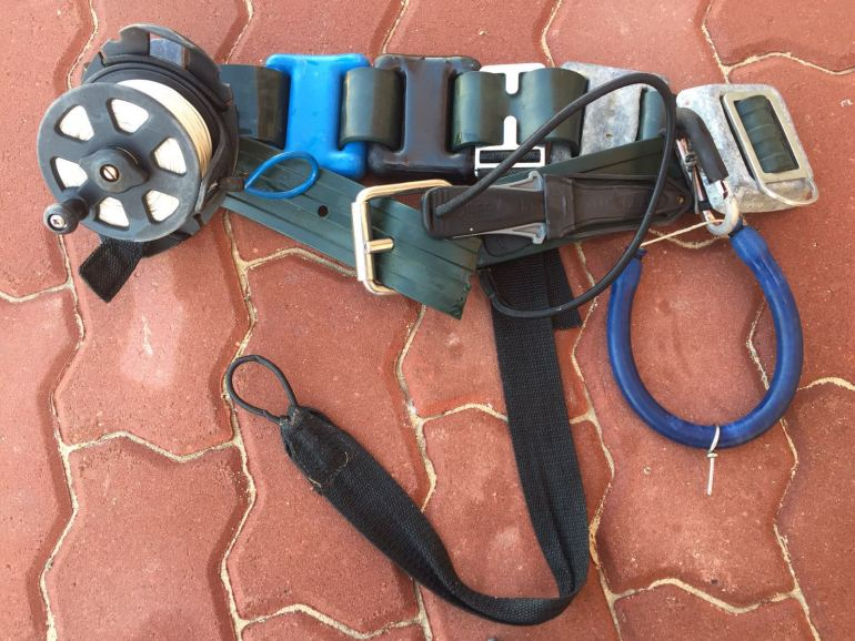 Chris Coates Weightbelt Setup for Spearfishing