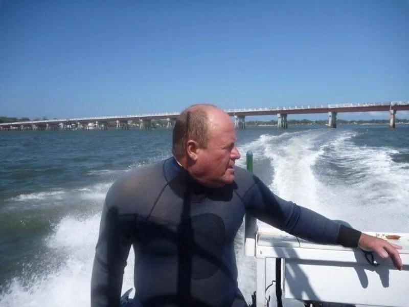 Rob Gates Freshwater Spearfisherman