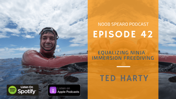 NSP:042 Ted Harty Equalizing Ninja from Immersion Freediving
